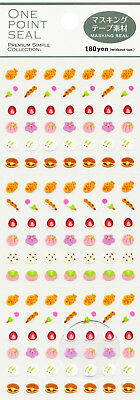 """Mind Wave One Point Seal """"Japanese Confectionery"""" Stickers"""