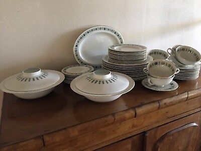 50 Piece Royal Doulton Tapestry Dinner set