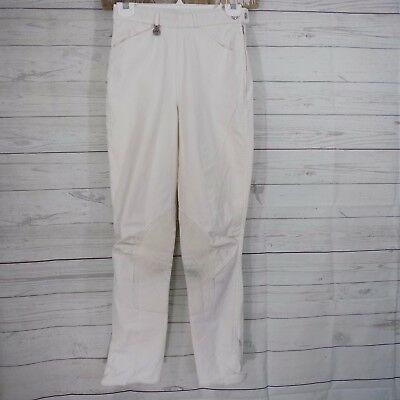 Pikeur Riding Breeches the winner Classic Riding Equestrian Suede Ivory Sz 26