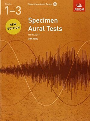 Specimen Aural Tests, Grades 1-3 with 2 CDs: new edition from 2011 (Specimen Au