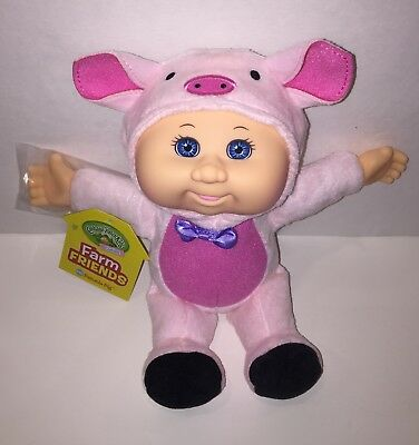 Cabbage Patch Kids Cuties Farm Friends Petunia Pig ~ Brand New With Tag