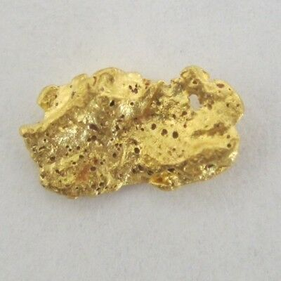 GOLD NUGGET 0.61 Grams AUSTRALIAN NATURAL BALLARAT GOLD