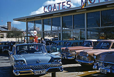 Repro Photo 1960s COATES MOTORS FORD DEALERSHIP, BAIRNSDALE, VICTORIA (6 x 8 in)