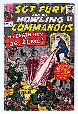 Sgt Fury and his Howling Commandos #8 Marvel 5.0