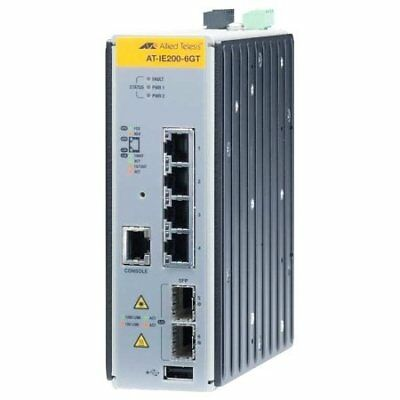 Allied Managed Industrial Switch con 2x 100/1000S
