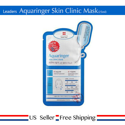 LEADERS AQUARINGER SKIN Clinic Mask 25ml NEW + Free Sample [ US Seller ]