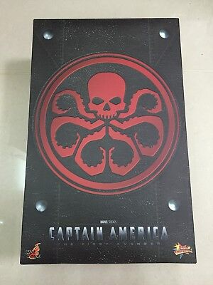 Hot Toys MMS 167 Captain America The Avenger Red Skull Johann Schmidt Hugo NEW