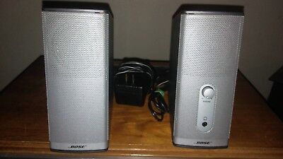 Bose Companion 2 Series II Multimedia Computer PC Speakers System Gray Works!