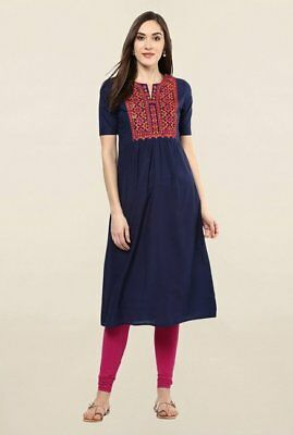 Indian Bollywood Style Kurtis Made From Pure Cotton Best Fitting All Sizes-32
