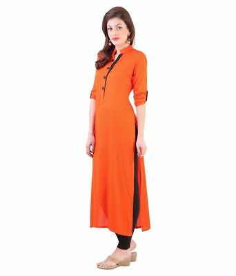 Indian Bollywood Style Kurtis Made From Pure Cotton Best Fitting All Sizes-2
