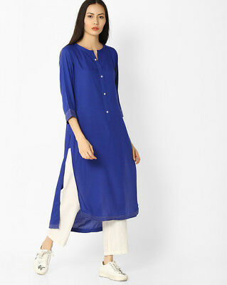 Indian Bollywood Style Kurtis Made From Pure Cotton Best Fitting All Sizes-17