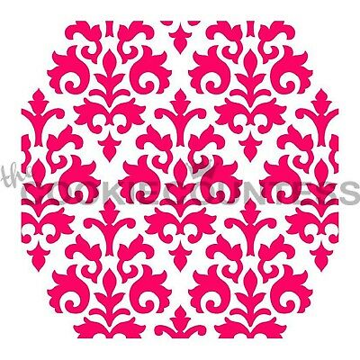 The Cookie Countess COUNTESS DAMASK Stencil