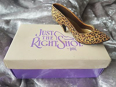 JUST THE RIGHT SHOE Leopard stiletto item 25017 by Raine