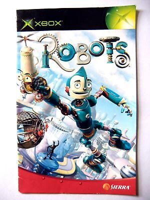 51598 Instruction Booklet - Robots - Microsoft Xbox (2005)