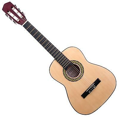 Classic Cantabile Wooden Acoustic Guitar 1/2 Size Classical Guitar Nylon Strings