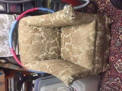 Beautiful antique bed room chair