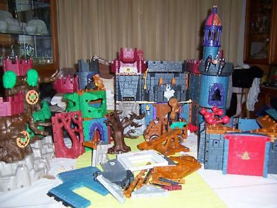 Fisher Price Imaginext Build Playsets Battle Castle Lost Fortress Wizards Tower