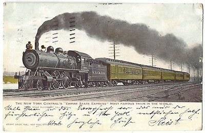 "Ak The New York Central's ""empire State Express""  1906"