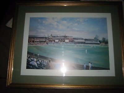 THE OVAL alan fearey limited edition print No 29 of 850