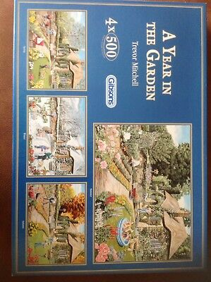 4 x 500 Piece Jigsaw Puzzles (Gibsons)