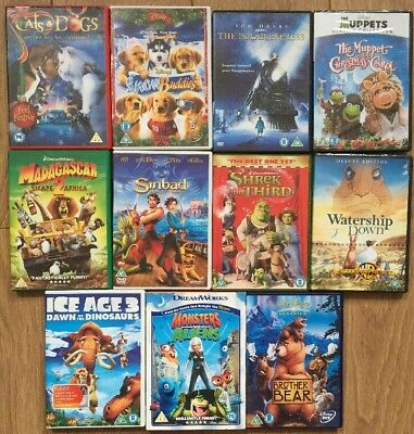 My DreamWorks Blu-ray/DVD Collection (Brand New Version in ...  |Dreamworks Disney Dvd Collection