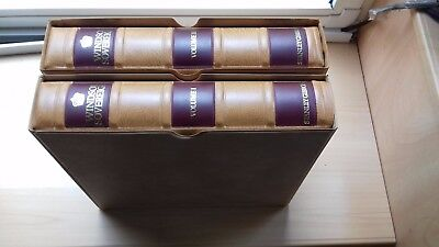 #344 SG WINDSOR SOVEREIGN GB VOL 1 & 2 Albums 1840-1993 with a few stamps in