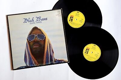 Isaac Hayes ‎– Black Moses - 2 LP - US - 1975 - FOC - Stax ‎– STXD 4003 - SOUL