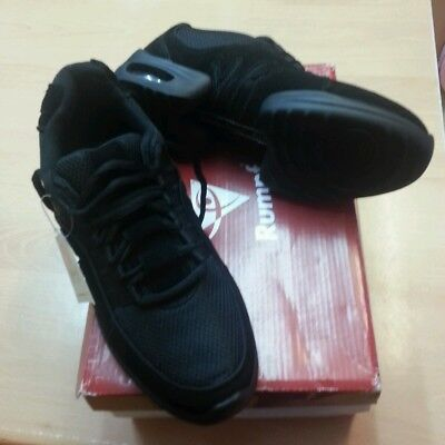 Rumpf Glider Black Dance Trainers Sneakers -  sale UK Adult Sizes  5