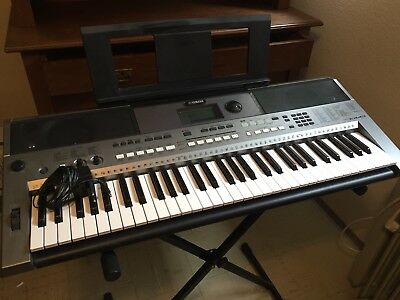 yamaha keyboard psr 620 mit st nder keyboardtasche eur. Black Bedroom Furniture Sets. Home Design Ideas