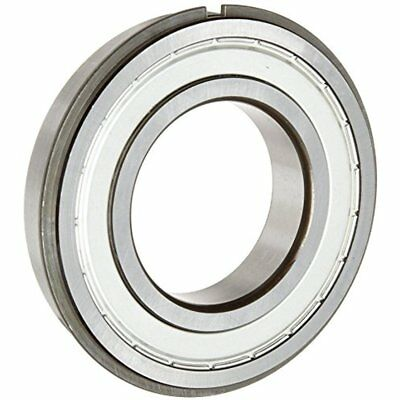 6005 ZZ NR C3 Deep Groove Ball Bearing, Single Row, Double Shielded, Snap Ring,
