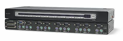 Belkin OmniView PRO2 PS/2 Series KVM Switch 8-ports with On-Screen Display