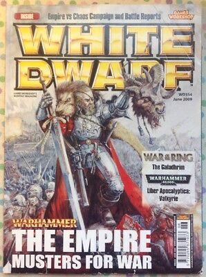 White Dwarf 354 June 2009 Warhammer 40k, LOTR Strategy Battle GW
