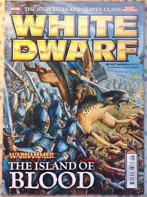 White Dwarf 369 September 2010 Warhammer Island Of Blood GW