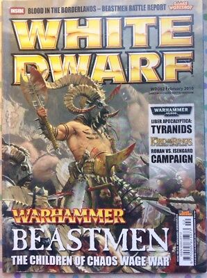 White Dwarf 362 February 2010 Warhammer, 40k, LOTR Strategy Battle Game GW