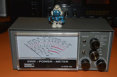 K SWR 700,  Big Display !  SWR/ Power/ Modulation AM /   Very RARE  !!