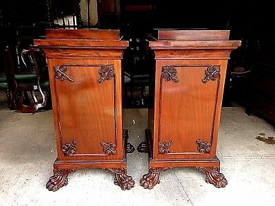 Superb Pair of Victorian Pedestals