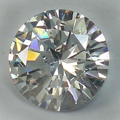 6.70 CT.10x6.2 mm.AWESOME WHITE BRILLIANT ROUND DIAMOND (Lab-Created)
