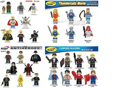 KFA Super Heroes minifigure - Thundercats / Buffy the Vampire Slayer / G.I. Joe