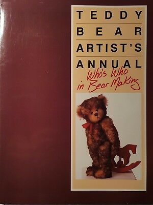 Teddy Bear Artist's Annual, Who's Who In Bear Making, Paperback 1989