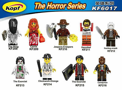 KFA Custom minifigure American Horror TV  Movie Minifigure - Choose ONE