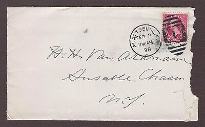 mjstampshobby 1898 US Vintage Cover Used (Lot4748)