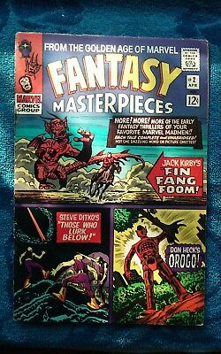 old vintage silver age Marvel fantasy masterpieces issue 2 vf