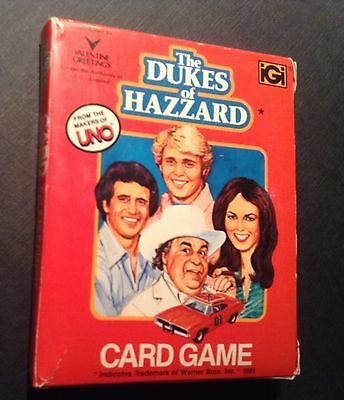 Dukes Of Hazzard Vintage UNO Game - Available in Australia