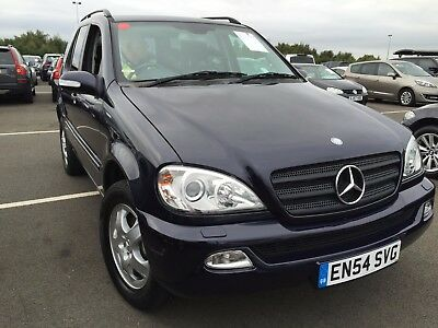 54 Reg Ml270 2.7 Cdi Leather, Climate, Alloys, Cd, Very Nice Looking Low Mileage
