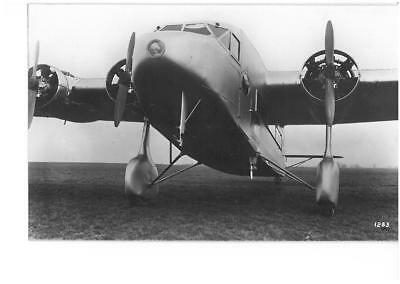 Four Engine Airliner Real Photograph