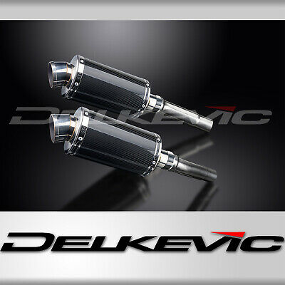 DUCATI MONSTER 620/695/800 2002-2008 225mm CARBON RACE SILENCERS EXHAUST