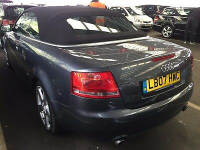 07 Audi A4 Cabriolet 2.0 T Fsi S-Line Auto Low Miles 55K Leather Non Runner