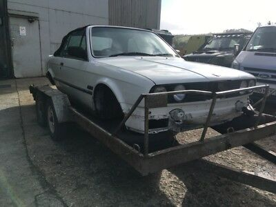 1986 Bmw e30 325i Convertible Shell Project Spares or Repairs