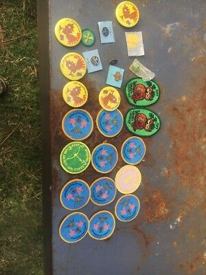 LOT OF 20 Plus GIRL SCOUT BADGES And Pins. Vintage Early Years