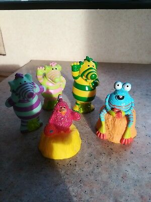 Fimbles play figures Cbeebies vintage toys